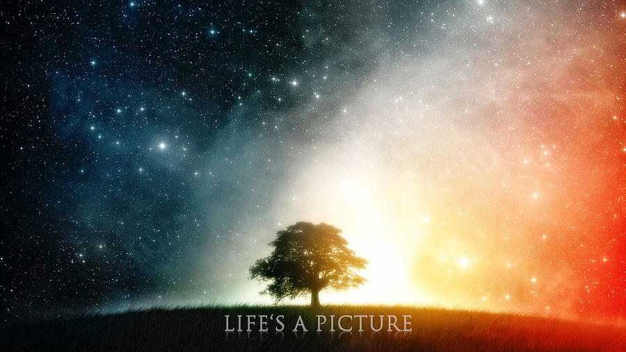 Landscape Digital Art - Lifes A Picture by Andrew Webber