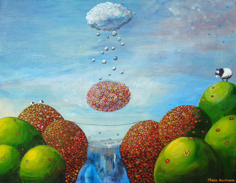 Lifes Path Painting  - Lifes Path Fine Art Print
