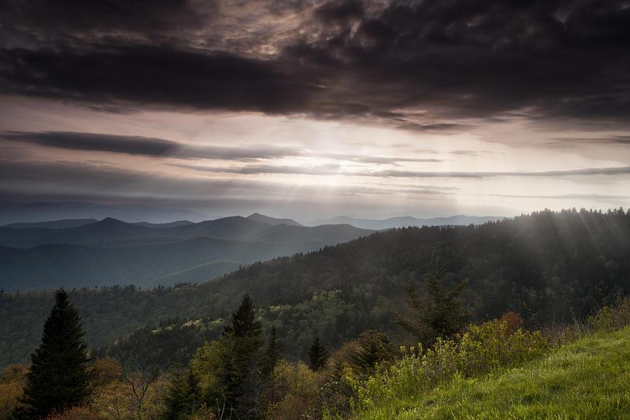 Light On The Blue Ridge Photograph