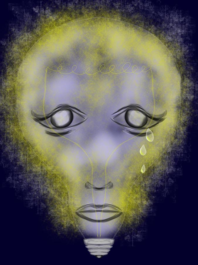 Light Out Digital Art