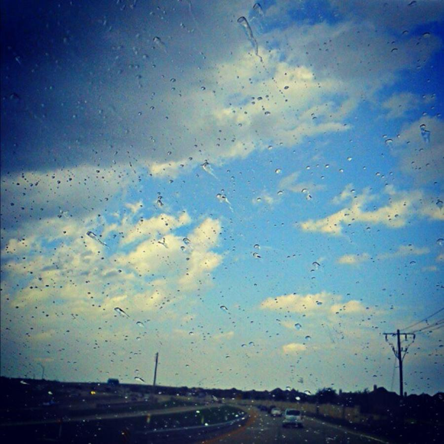Andrography Photograph - Light Showers In June... #instadroid by Kel Hill