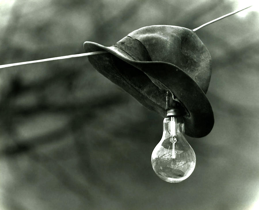 Lightbulb Photograph  - Lightbulb Fine Art Print