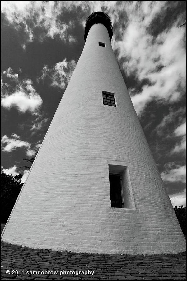 Lighthouse At Key Biscayne Photograph
