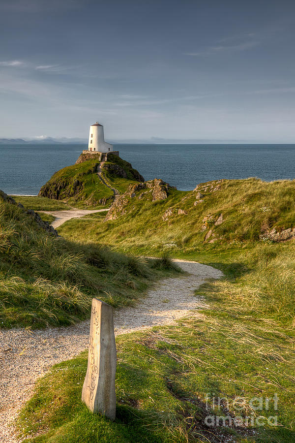 Lighthouse Twr Mawr Photograph