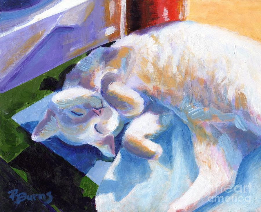 Lightly Napping Painting  - Lightly Napping Fine Art Print