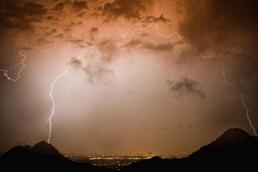 Lightning Photograph - Lightning Dome by James BO  Insogna