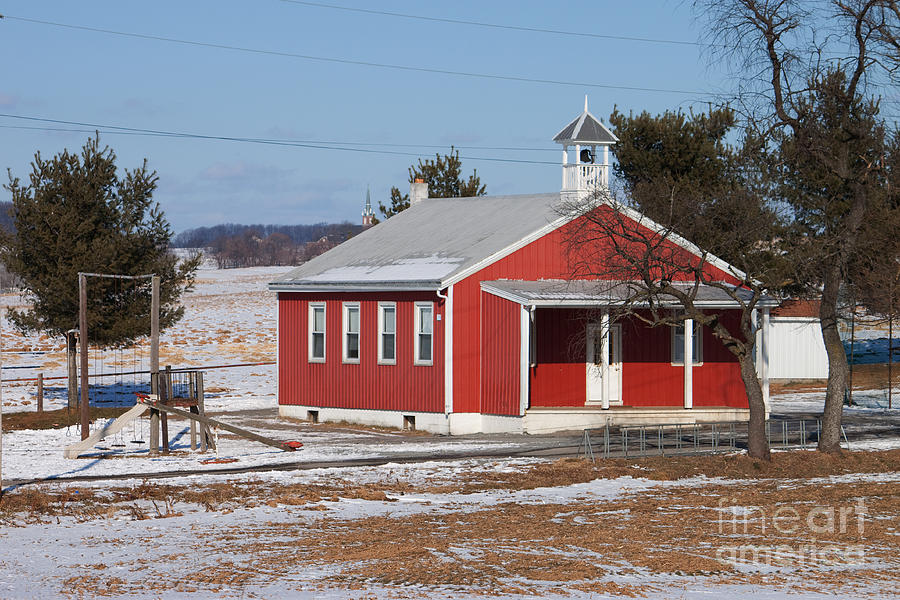 Lil Red School House Photograph