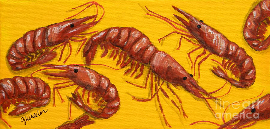 Lil Shrimp Painting