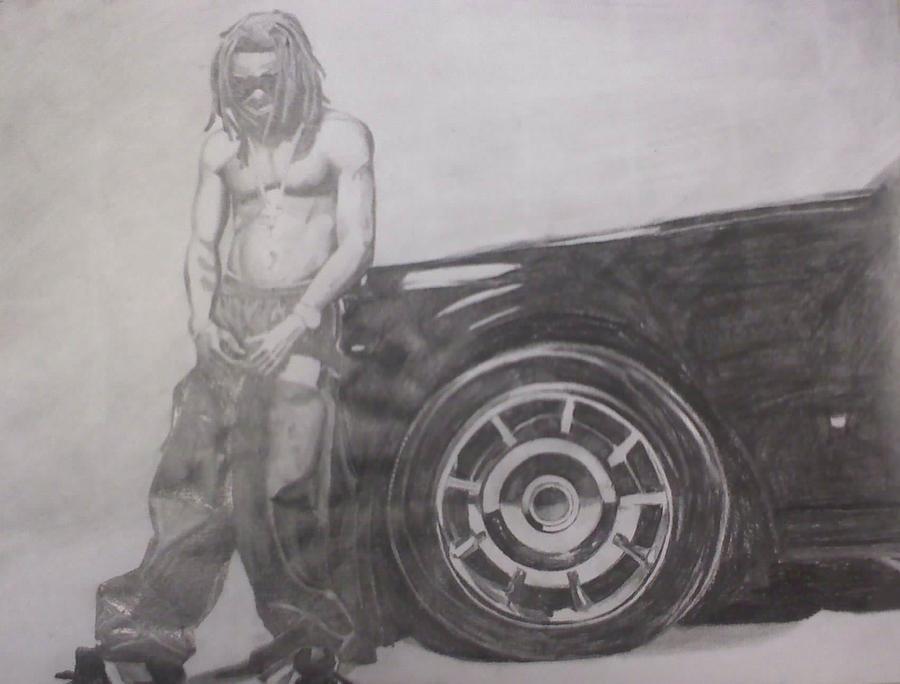 Pencil Drawings Of Lil Wayne Lil Wayne - Carter II Drawing