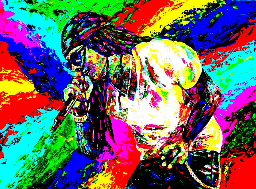 Lil Wayne Painting