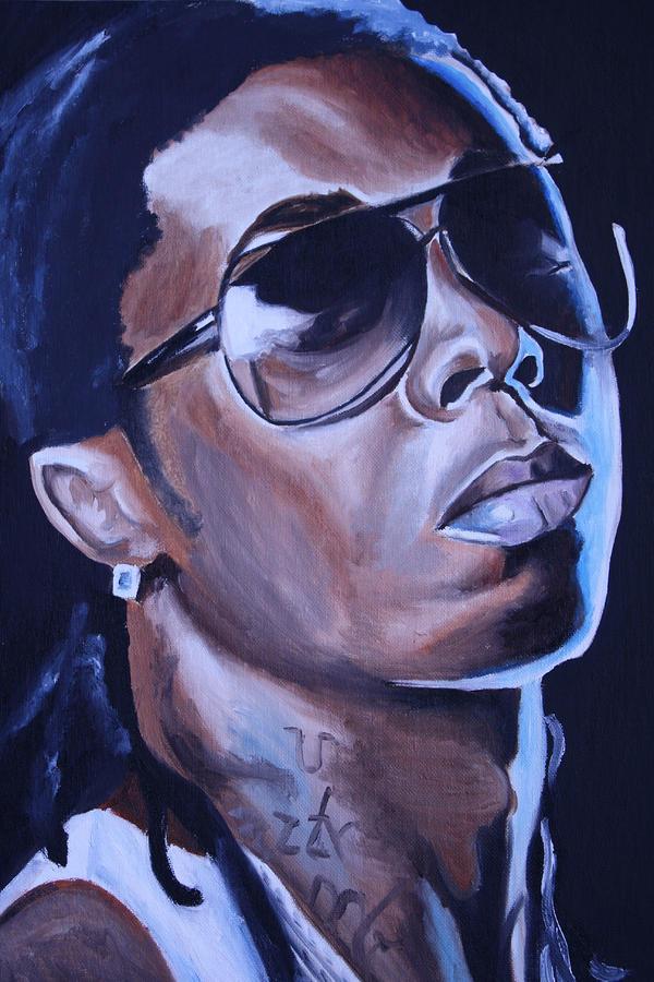 Lil Wayne Portrait Painting