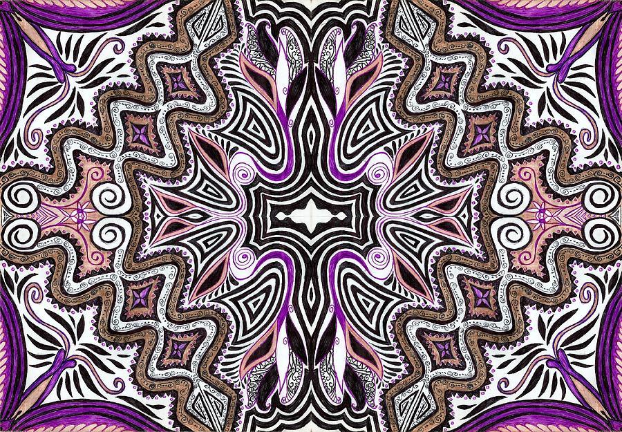 Lilac Garden4 Drawing