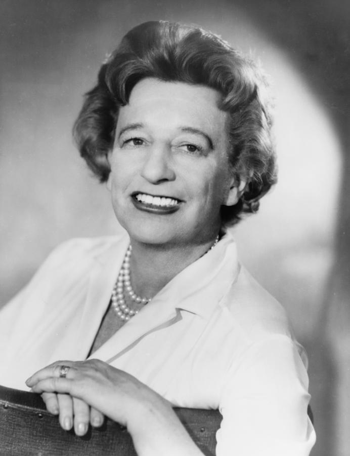 History Photograph - Lillian Hellman 1905-1984 Dramatist by Everett