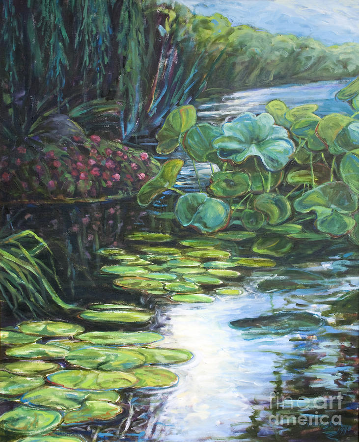 Lilly Pads Painting