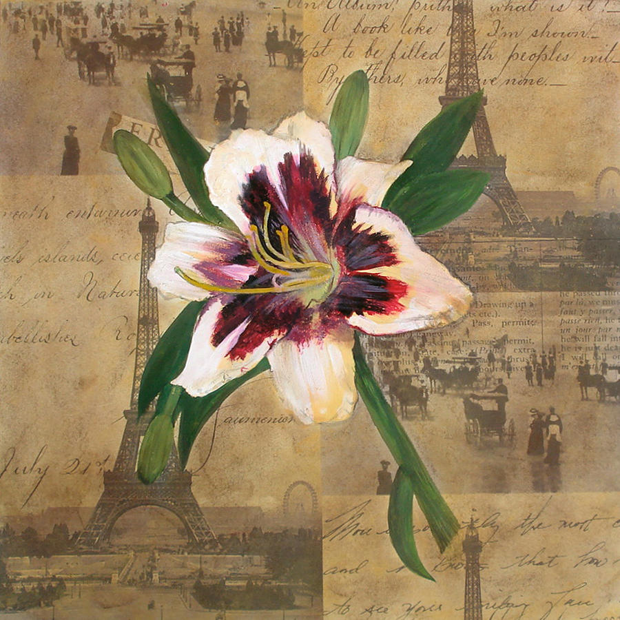 Lily Of France Painting