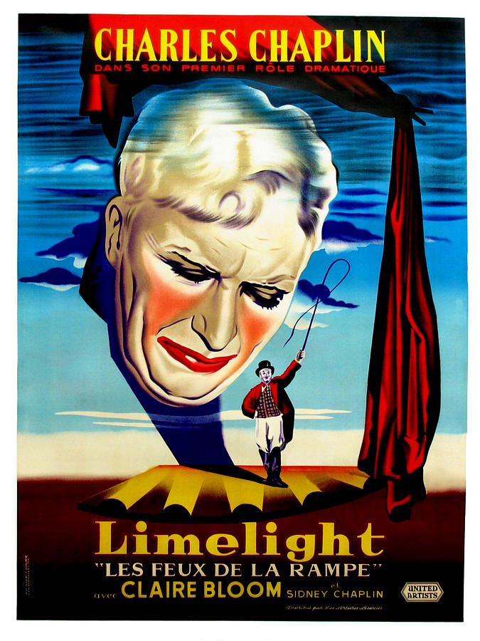Limelight Aka Limelight Les Feux De La Photograph  - Limelight Aka Limelight Les Feux De La Fine Art Print