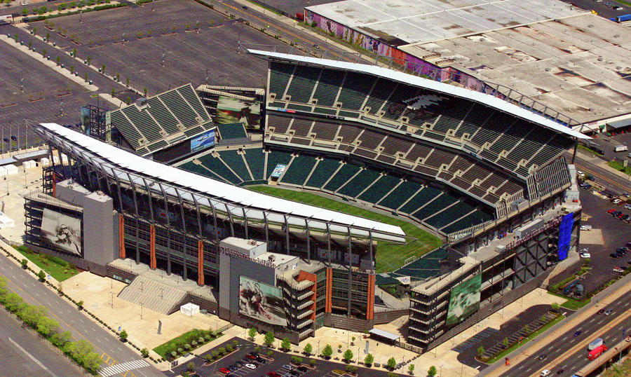 Lincoln Financial Field Philadelphia Eagles Photograph