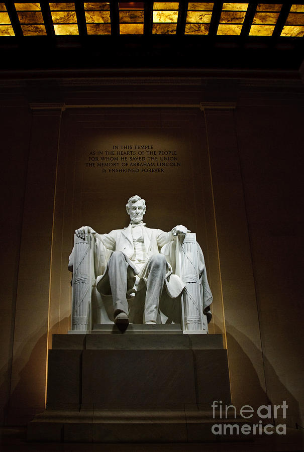 Lincoln Photograph  - Lincoln Fine Art Print