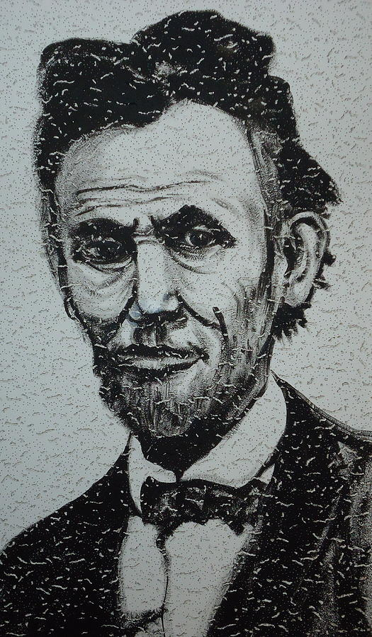 Abraham Lincoln Painting - Lincoln by Pete Maier
