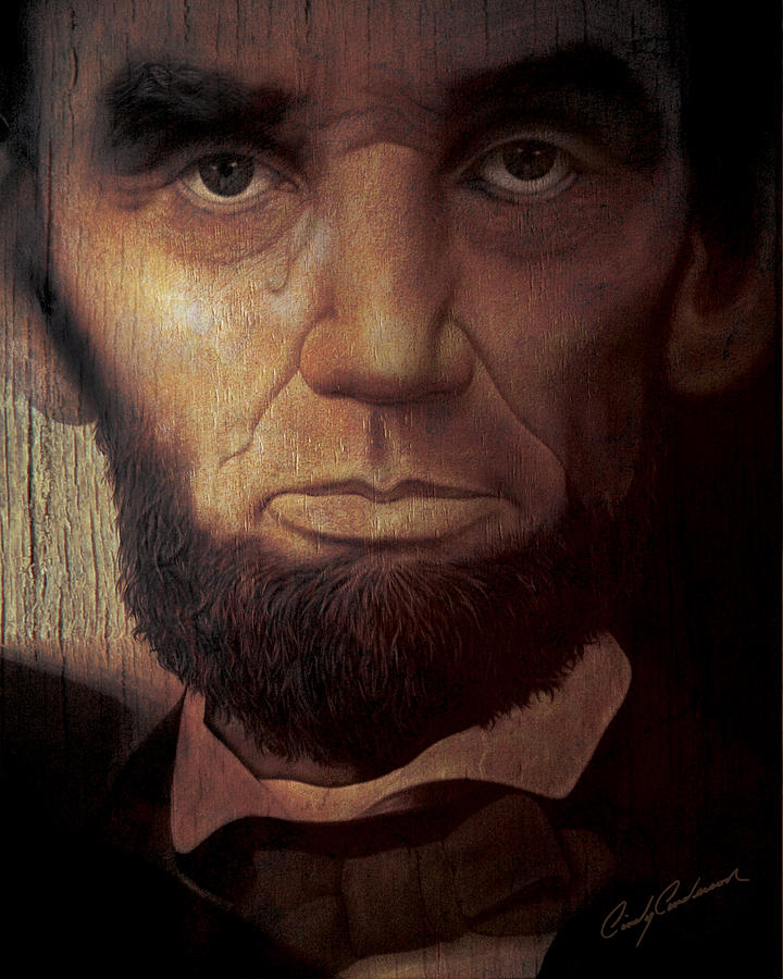 Lincolns Tear Painting