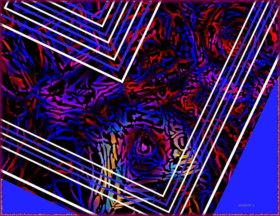 Lines And Tones Digital Art  - Lines And Tones Fine Art Print