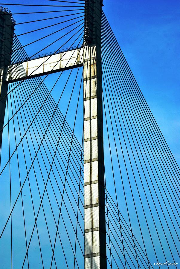 Photograph - Lines by Vinod Nair