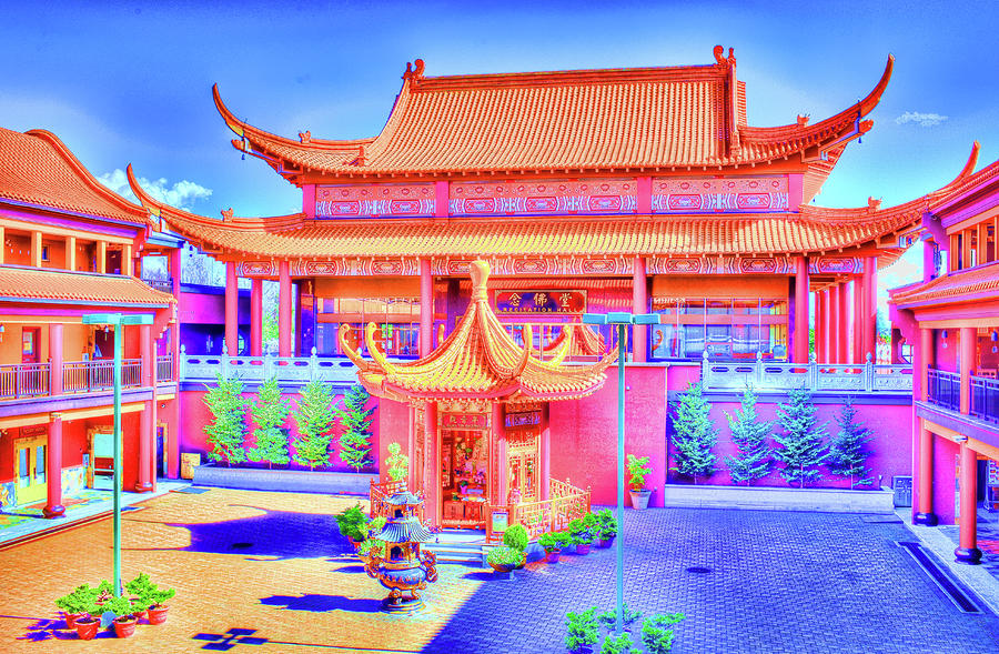 Lingyen Mountain Temple 12 Photograph  - Lingyen Mountain Temple 12 Fine Art Print