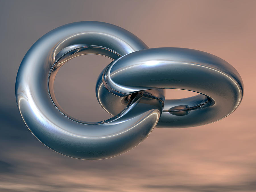 Linked Rings, Artwork Photograph