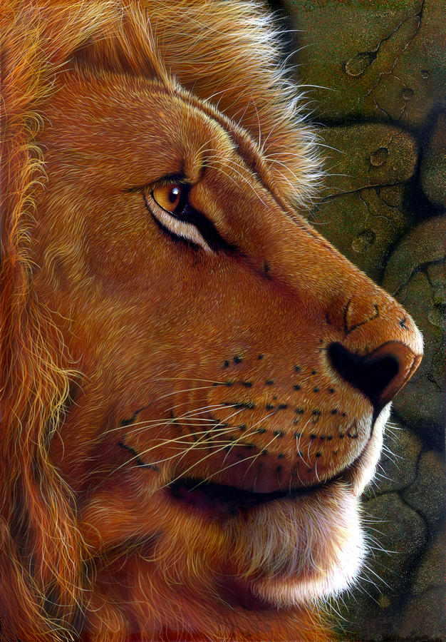 Lion King Painting  - Lion King Fine Art Print