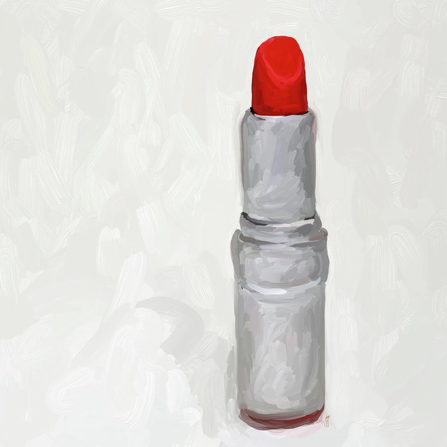 Lipstick I Painting