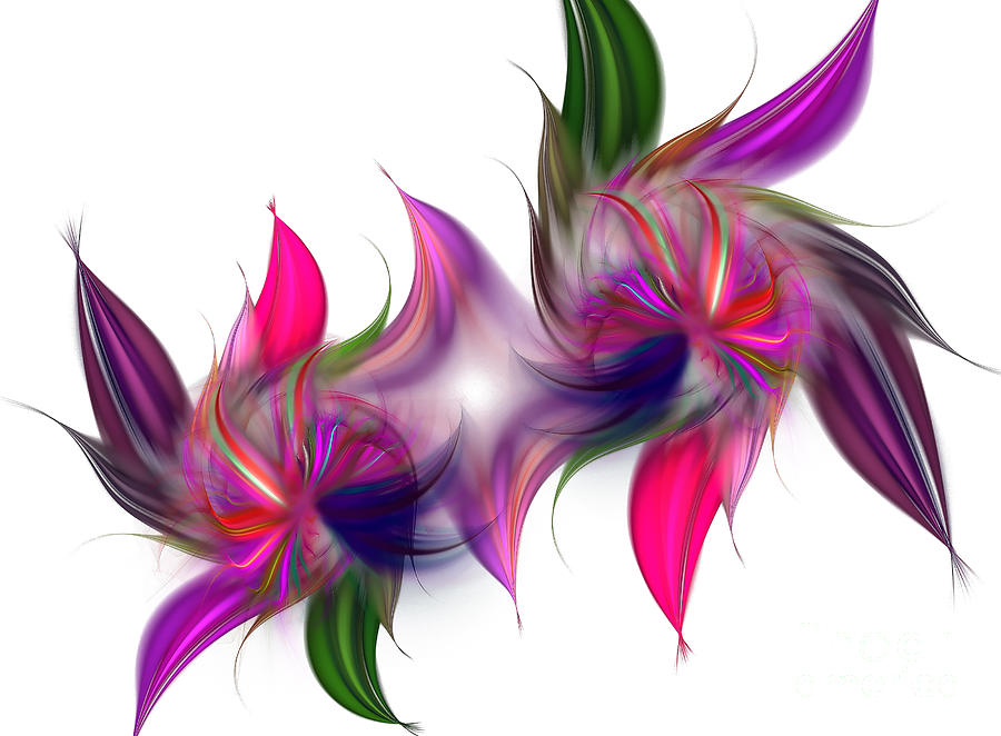 Liquidity Of Math Digital Art  - Liquidity Of Math Fine Art Print