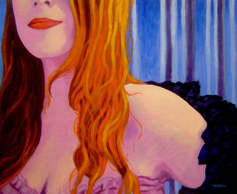 Lisa Darling  I - The Irish Burlesque School Painting