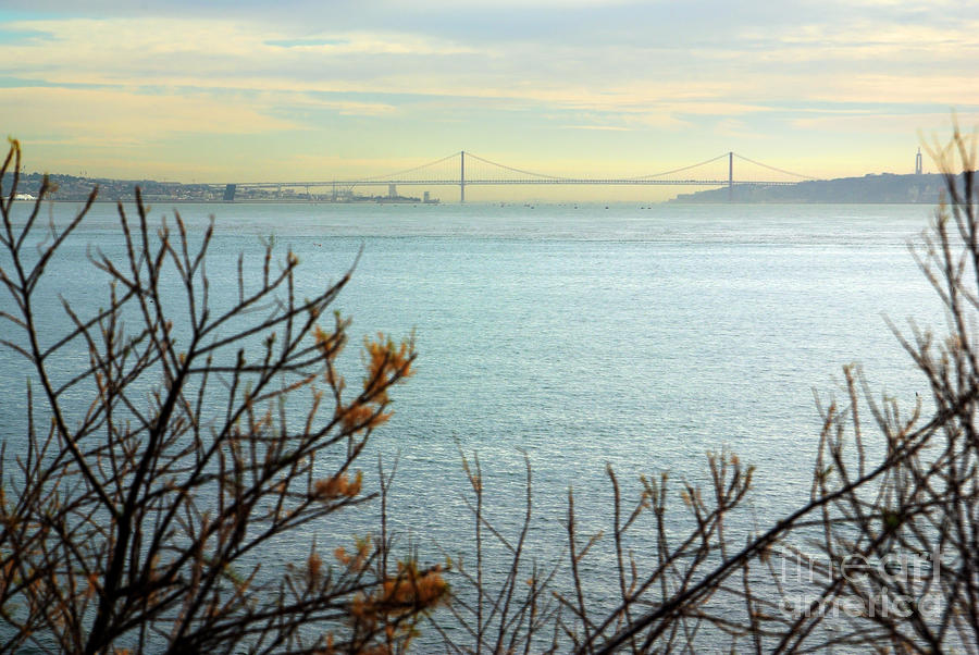 Lisbon On The Horizon Photograph  - Lisbon On The Horizon Fine Art Print