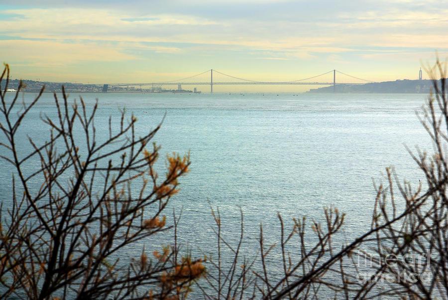 Lisbon On The Horizon Photograph