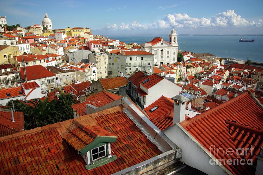 Lisbon Rooftops Photograph