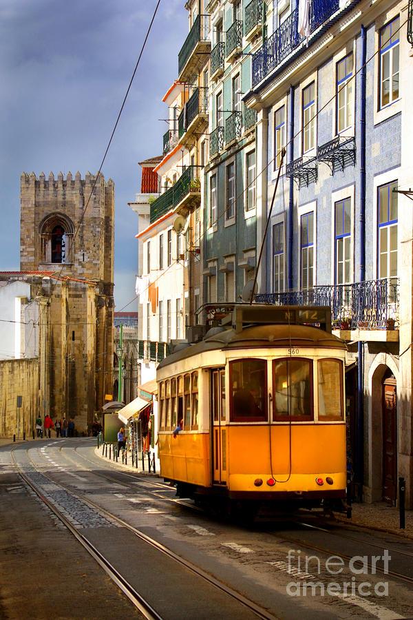 Lisbon Tram Photograph