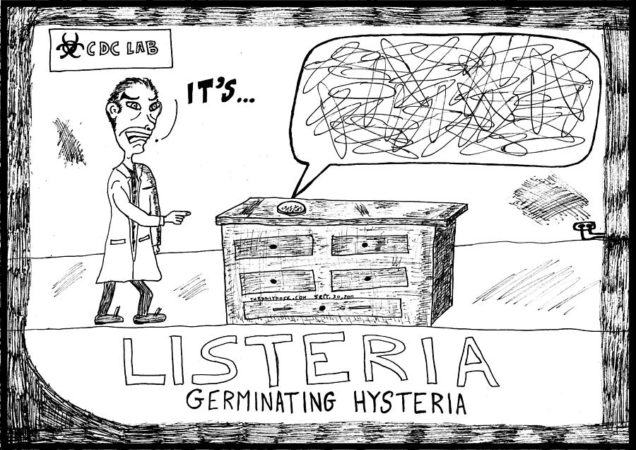Listeria Hysteria Drawing
