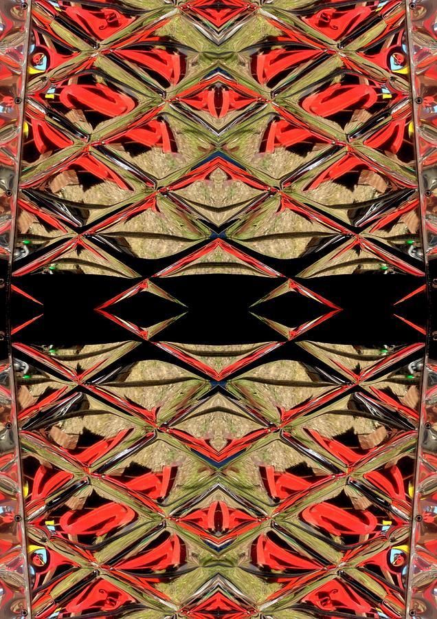 Red Ceramic Art - Lit0911001008 by Tres Folia