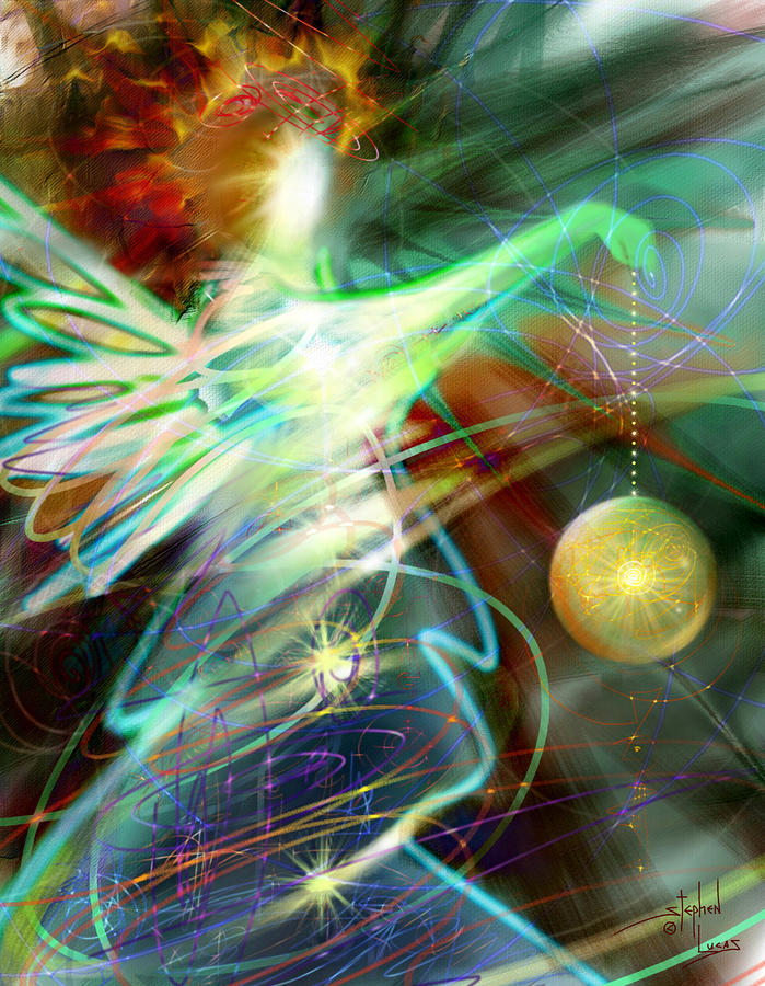 Lite Brought Forth By The Archkeeper Digital Art