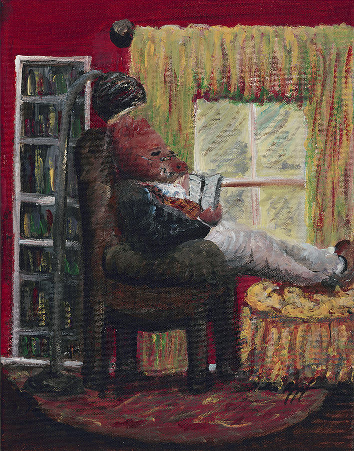 Literary Escape Painting