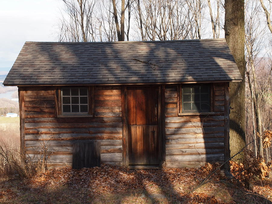 Farm Photographs Photograph - Little Cabin In The Woods by Robert Margetts
