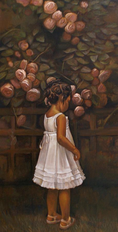 Little Flower Painting