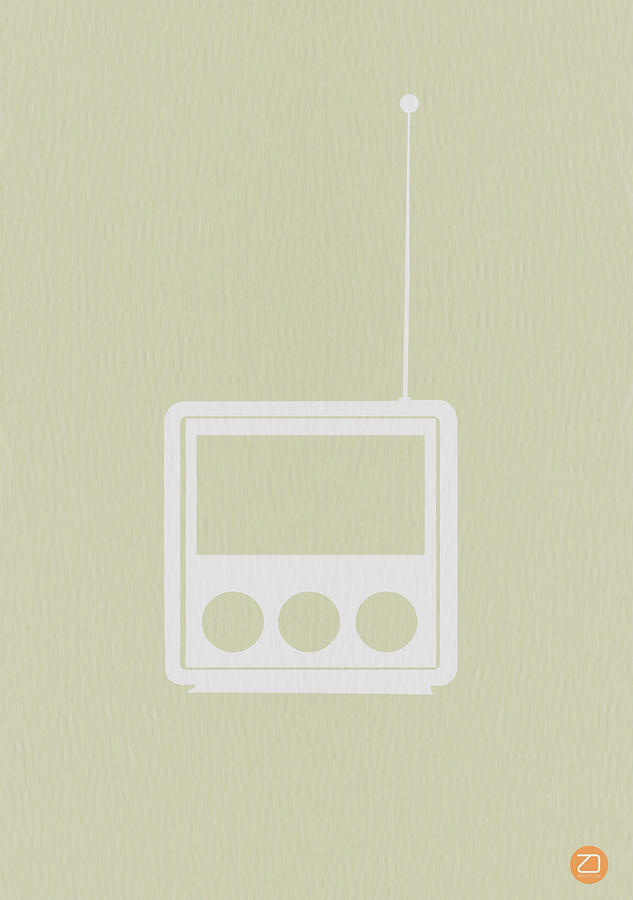 Little Radio Drawing  - Little Radio Fine Art Print