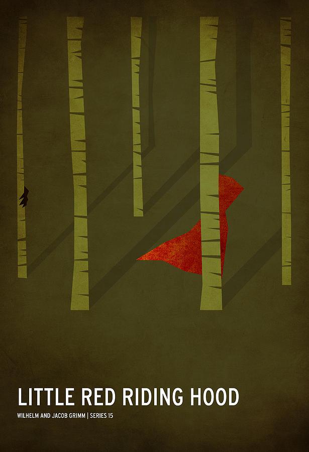Little Red Riding Hood Digital Art