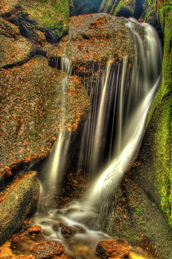 Little Waterfall At Burn O Vat Photograph  - Little Waterfall At Burn O Vat Fine Art Print