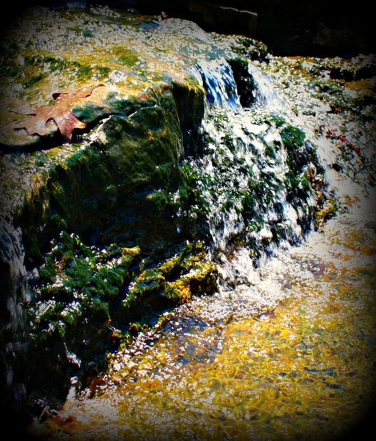 Little Waterfall Photograph  - Little Waterfall Fine Art Print