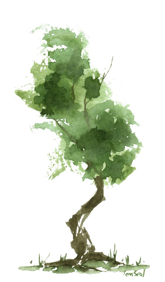 Little Zen Tree 187 Painting