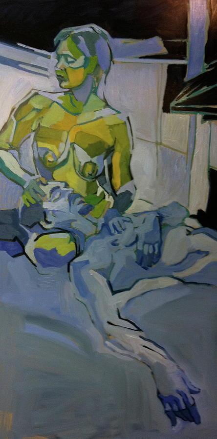 Liz N Brian Pieta Painting