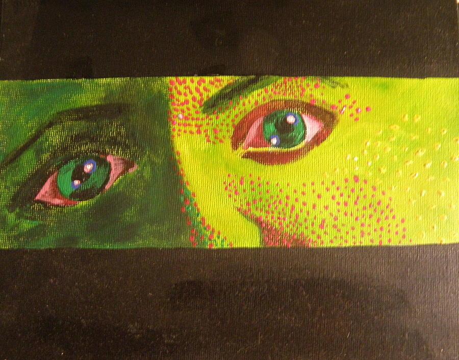 iguana eye painting - photo #41