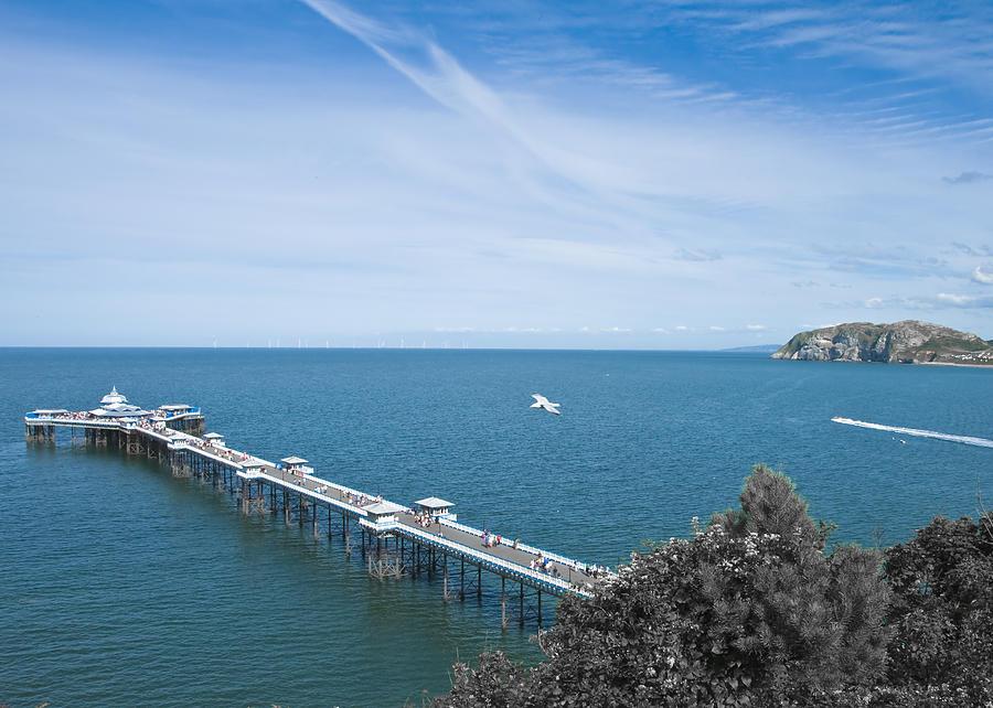 Llandudno Pier Photograph